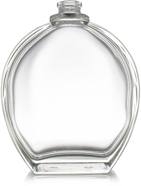 TAPA CELINE CLEAR CAP 15 mm WITH SILVER METAL RING